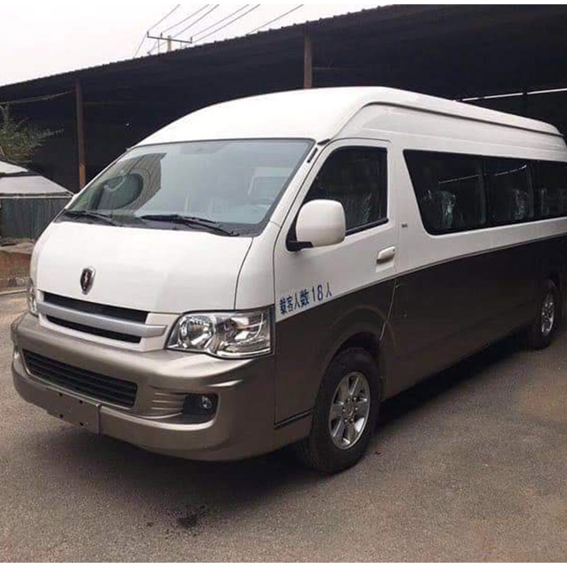 2017 Used Jinbei Van 18 Seats Gasoline Engine