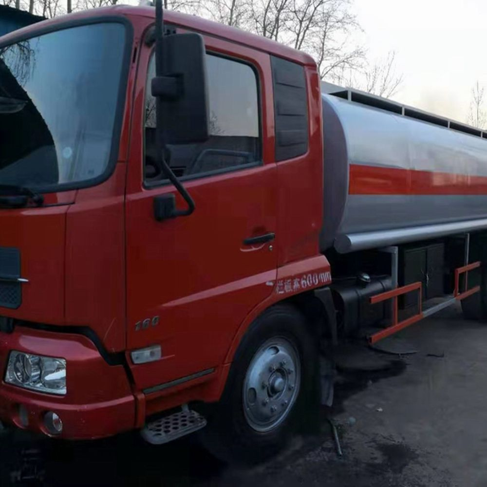 2015 Used FAW Fuel Truck 10T