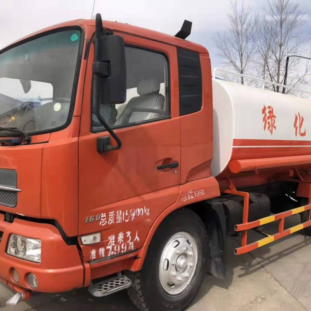 2015 Used Dongfeng Water Tank Truck