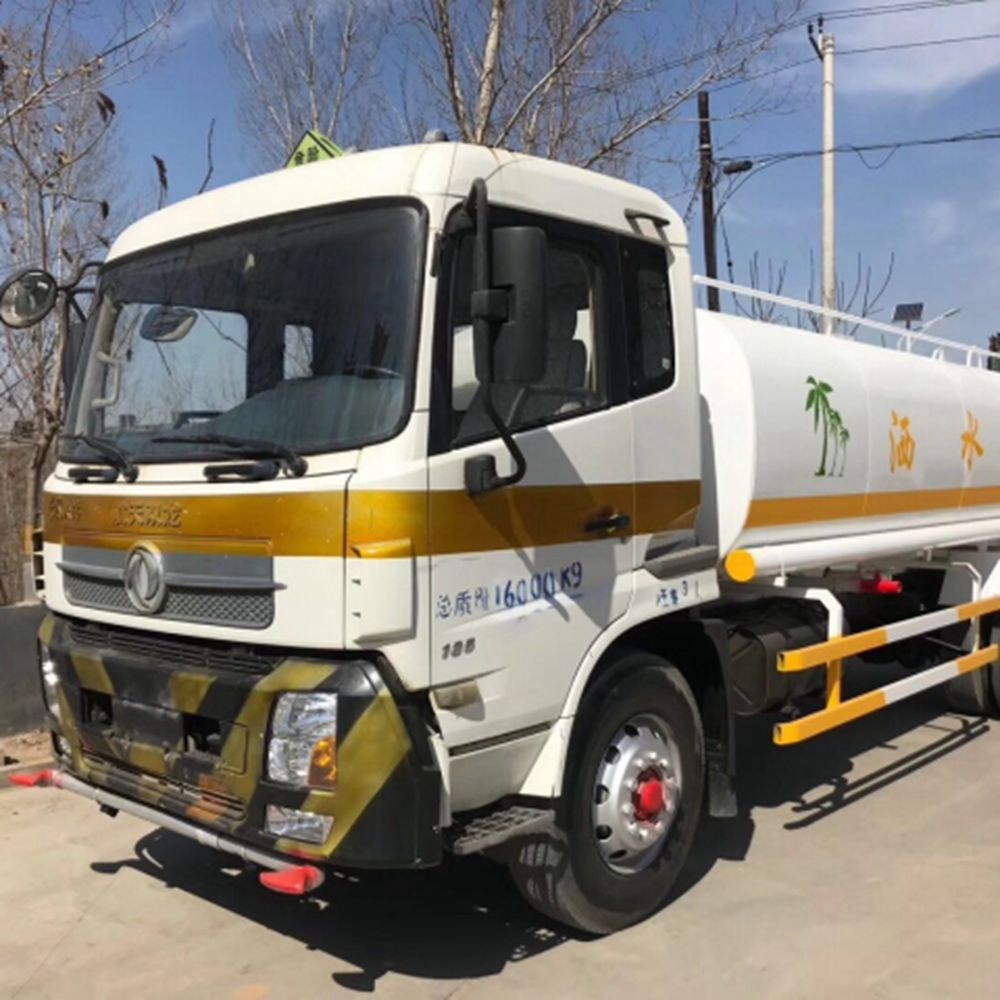 Used Dongfeng Water Tank Truck 20T
