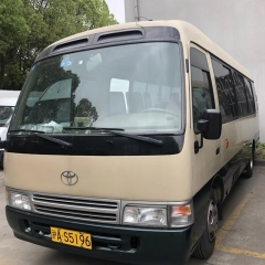 2005 Used Toyota Coaster Bus from Japan, Diesel Engine 19 Seats