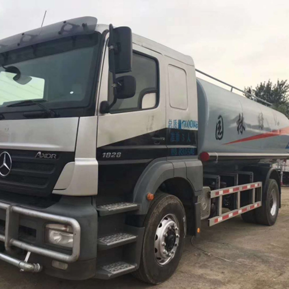2016 Used Mercedes Benz Water Tank Lorry 20T