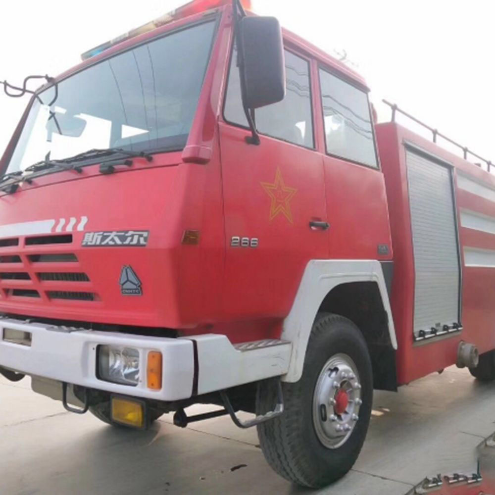 2010 Used Sino Steyr Fire Truck
