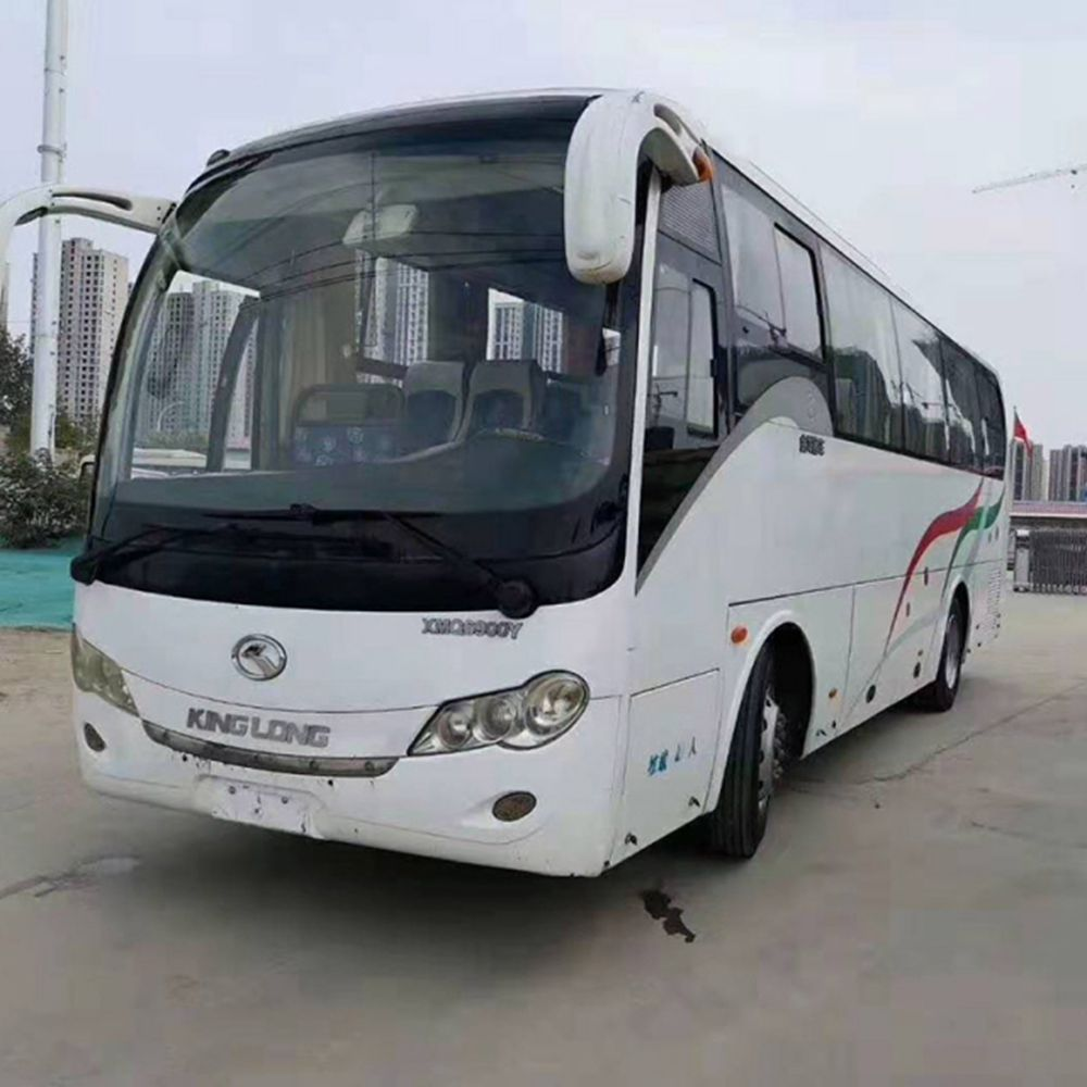 2010 Used Gloden Dragon XMQ6900Y Bus, 54000KM  9 Meters