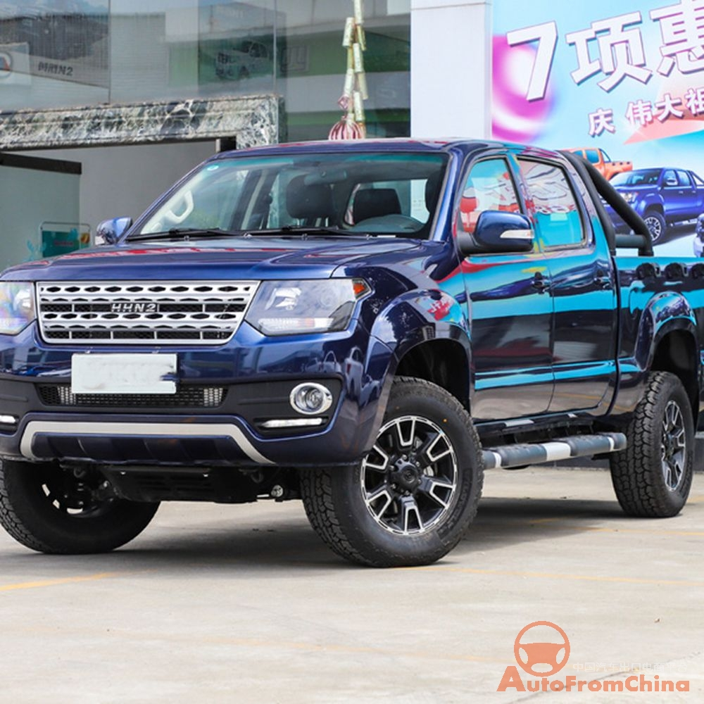 Hot sell Pickup !New 2020 Huanghai N2 Pickup , 4x4 , diesel