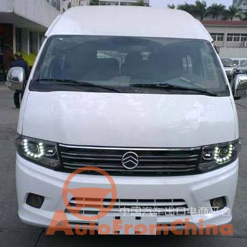 Golden Dragon minibus 17 seats electric XML6609JEVD0