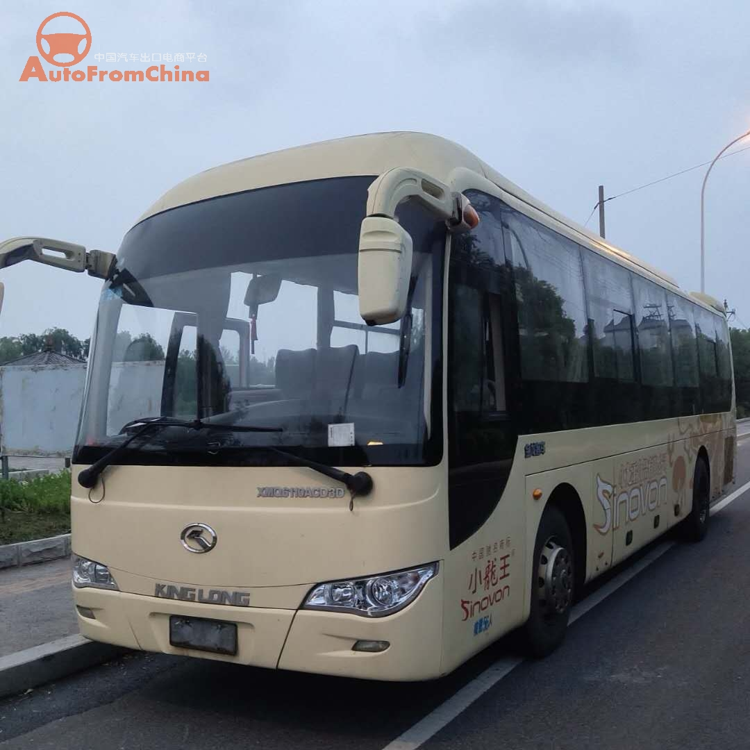 2013 Used Kinglong 6110ACD3D Bus ,Euro 3