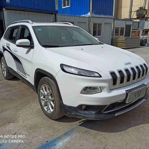 2018 Used Jeep Cherokee SUV ,Automatic Full Option