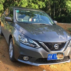 2019 Used Nissan Sylphy Sedan ,1.6T CVT,only 3800km used
