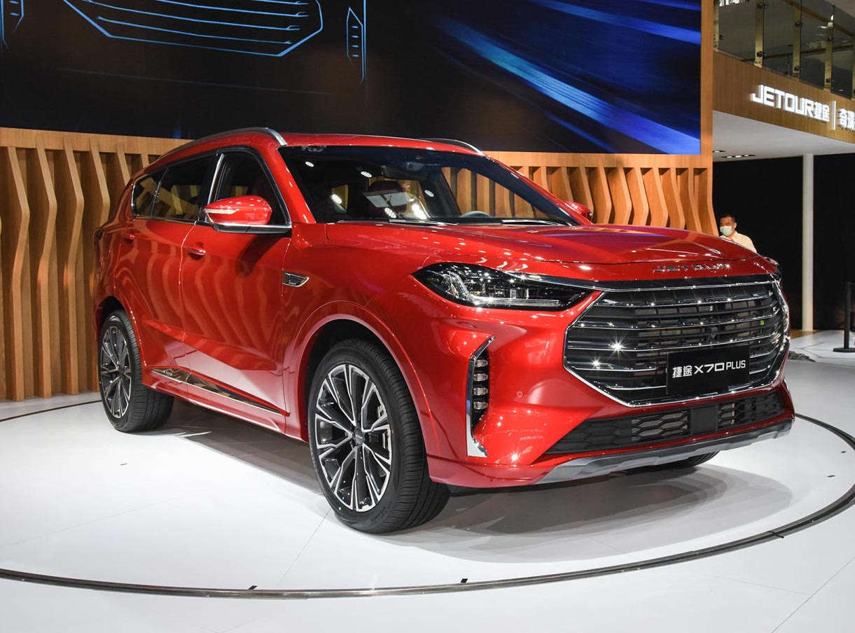 Autofromchina-New Chery Jetour X70 PLUS  SUV AT 1.5T with Full Option