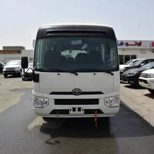 2021 NEW TOYOTA COASTER ,4.2L , DIESEL ,HIGHROOF 22 SEATER 3P SEAT BELT & LUGGAGE RACK