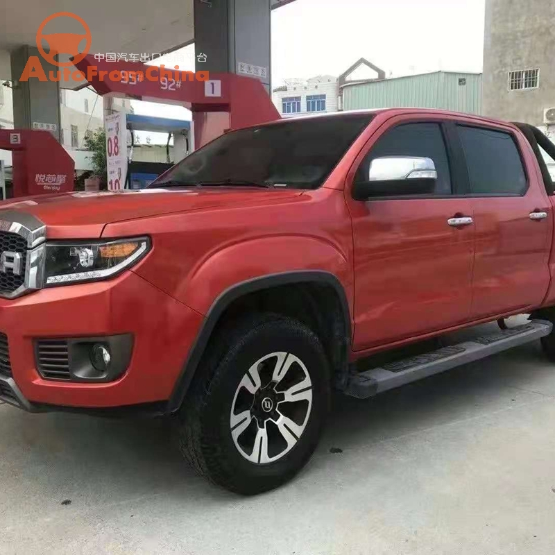 2018 year Huanghai N3 pickup full option 2.4T 4WD