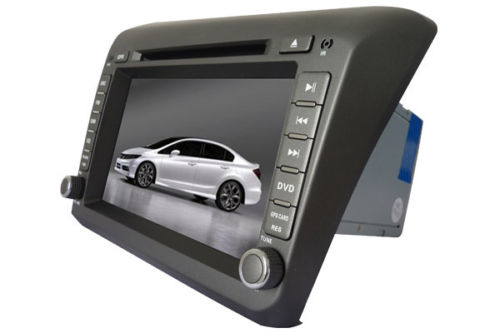 Honda Civic Car DVD GPS 2012-2013 player Radio navigation Stereo TV
