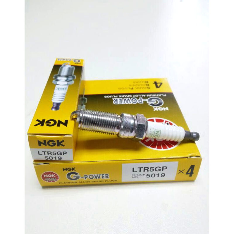 Hot Selling NGK LTR5GP 5019 G-POWER Car Platinum Spark Plugs Free Shipping