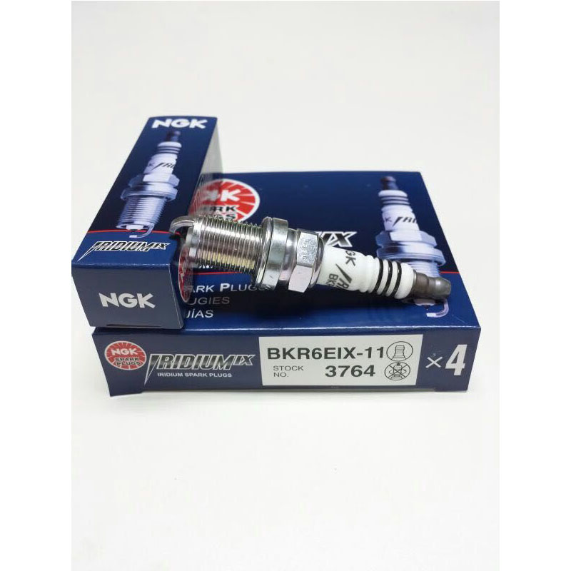 NGK 3764 BKR6EIX-11 Iridium IX Spark Plugs 4 PC Free Shipping