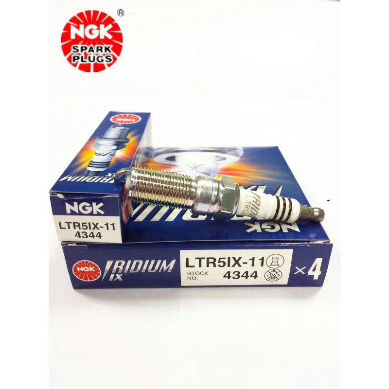 Super Free Shipping!! NGK IRIDIUM IX Spark Plug 4344 LTR5IX-11 MADE IN JAPAN(Set of 1锛