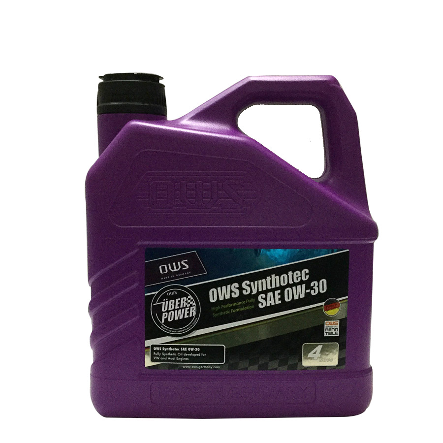 Synthetic SAE 0W-30 Motor Engine Oil