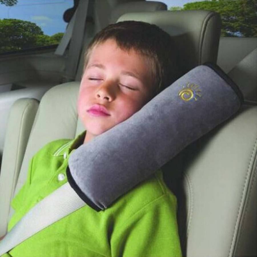 Car Seat Belt Shoulder Pad For Kids Adult Car Seat Belt Cover Safety Seat Headrest Sleeper Pillow