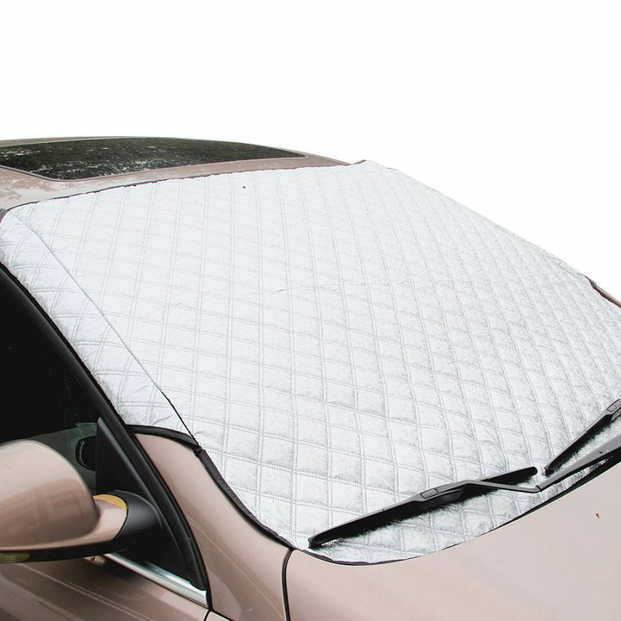 Car windshield frost protection cover thickening block visor block thickened plus cotton snow folding sun visor