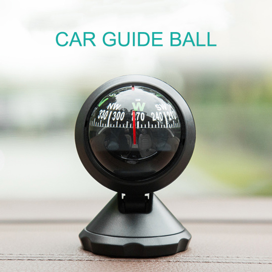 For Cars Boats and Truck Car Compass Mini Car Compass Ball For Decoration/Outdoor Direction guide Universal